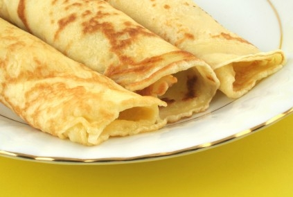 Stuffed Fish Crepes Recipe