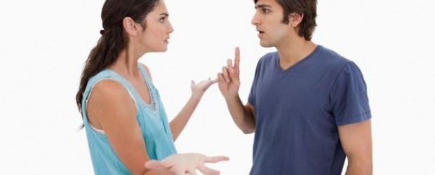 Fighting and disagreement with spouse