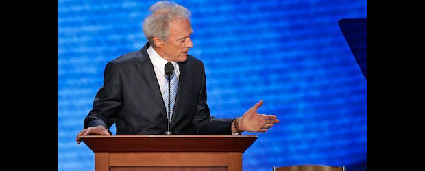 Clint Eastwood speaks on environmental issues and waste