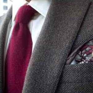 Men's High-end Designer Salvaged Handkerchief