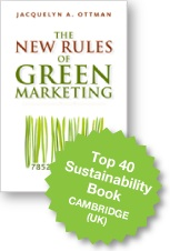 The New Rules of Green Marketing book by jacquie Ottman