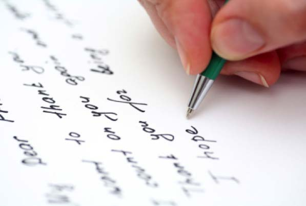 Writing a Note to Attach to your Thrift Store Donations
