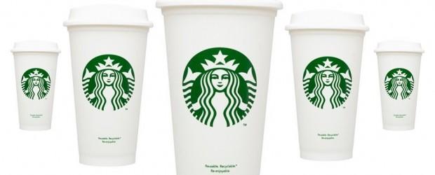 Starbucks non-disposable $1 plastic cups