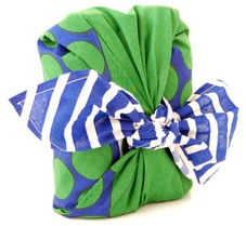 Furoshiki Knot-Wrap from Lush Cosmetics