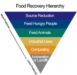 Food Waste Hierarchy