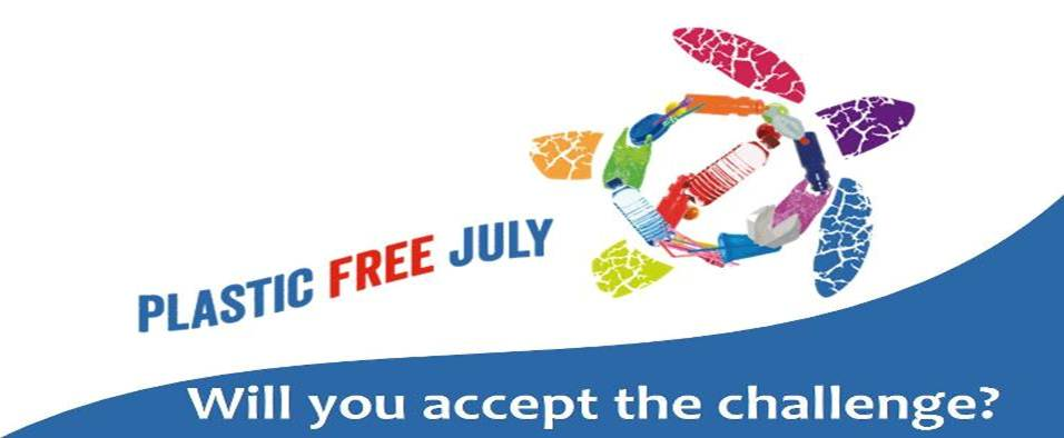 Image result for plastic free july