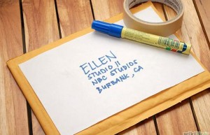 Add your own label to an old envelope. (Image: Wikihow.com)