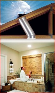 Get natural light with Solatube. (Image: stagetecture.com)