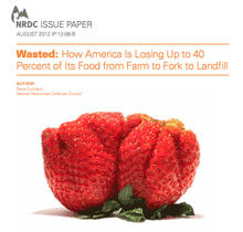 Dana Gunders NRDC Issue Paper on Food Waste