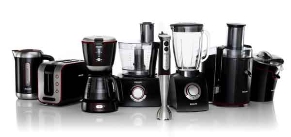 Modern Black and silver Kitchen Appliances -1-1024x719