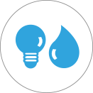 WHTW save water energy and other resources icon