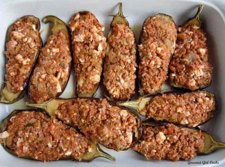 stuffed eggplant leftover recipe