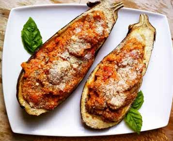 recipe leftovers meatloaf stuffed eggplant