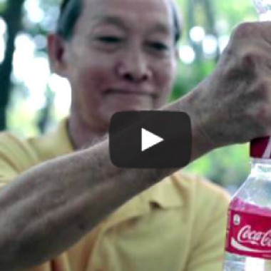 Coca Cola recycling upcycling
