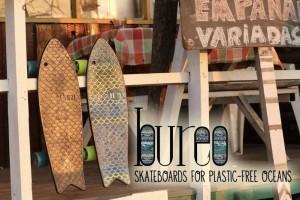 Bureo Skateboards help reduce ocean plastic waste