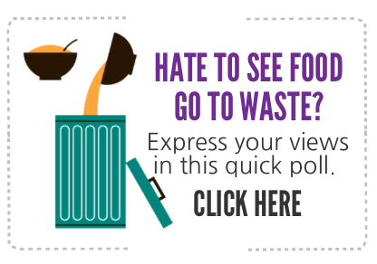 food waste survey icon