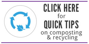 WeHateToWaste recycling and compost stories and tips