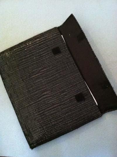 Work Folder made from Woven Audio Cassette Tape