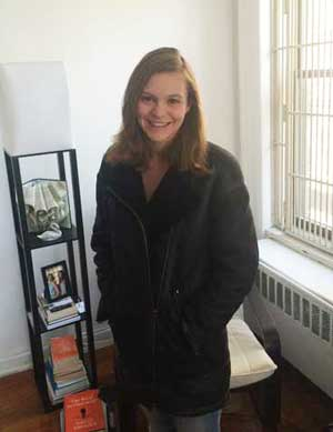Ruth Penniston Wearing Her Favorite Durable Coat
