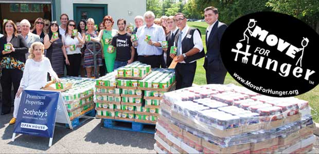 Move For Hunger has rescued over 4 million pounds of food that would have otherwise gone to waste. (Image: Move For Hunger)