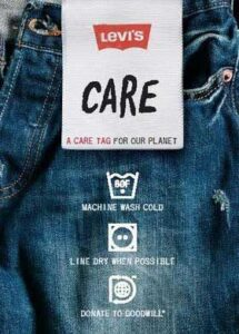 Levis Care Tag for Our Planet