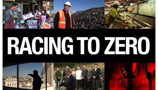 "Scenes from the San Francisco recycling documentary ""Racing to Zero"""