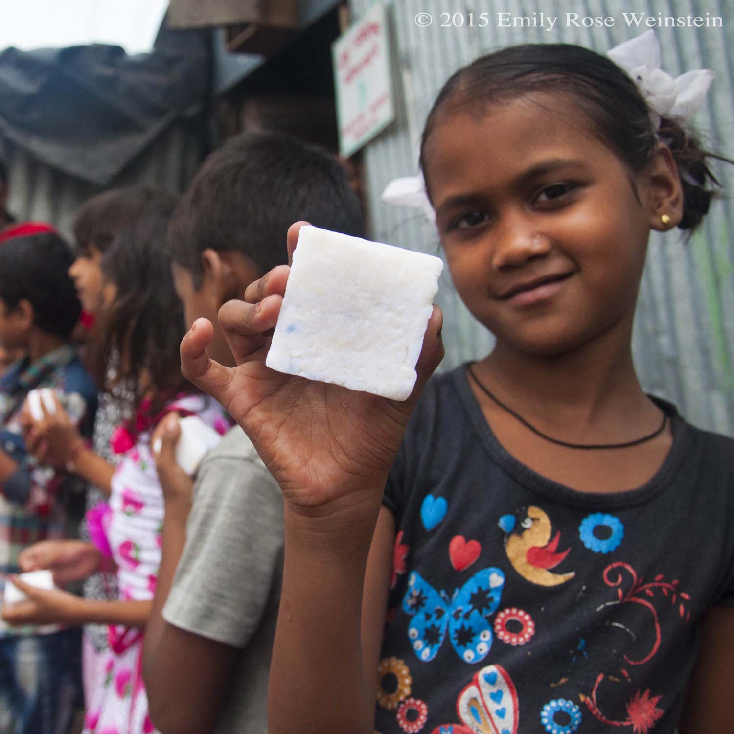 Recycled soap can help clean hands and save lives.