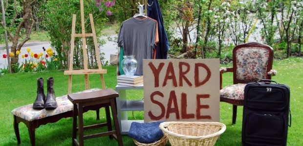 Yard Sale to Keep Stuff You Don't Want out of Landfill
