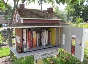 Share books at Little Free Library