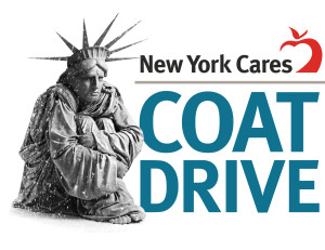 Donating coats to NY Cares winter coat drive is one way to share