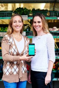 OLIO food waste app founders
