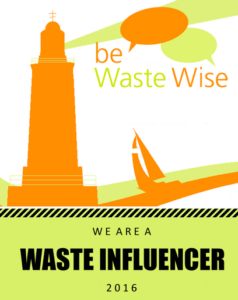 We Hate to Waste Named Top Influencer for 2016