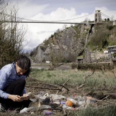 R.Prince-Ruiz studying litter in Bristol