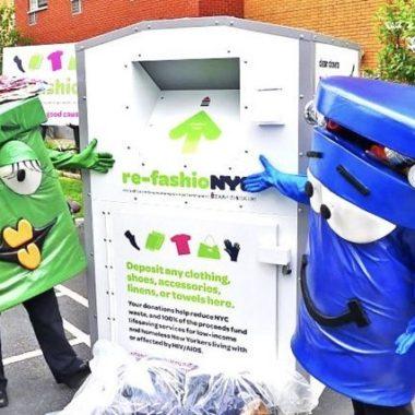 increasing recycling apartment buildings