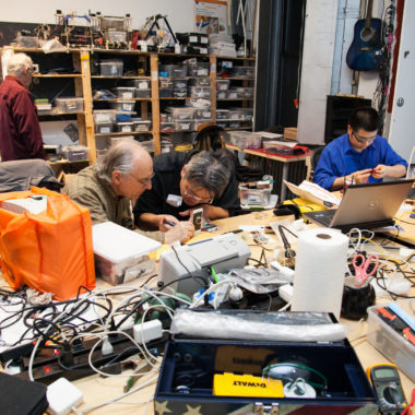 Vincent Lai helps the NYC community repair more broken stuff.