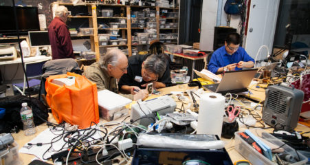 Vincent Lai helps the NYC community repair more broken stuff.