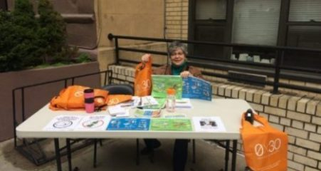Jacquie Nudges Her Neighbors to Learn More About Recycling in NYC