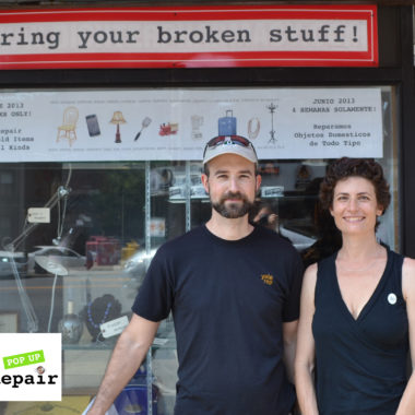 Pop Up Repair Founders Sandra and Michael