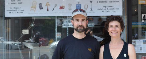 Pop Up Repair Founders Sandra and Michael