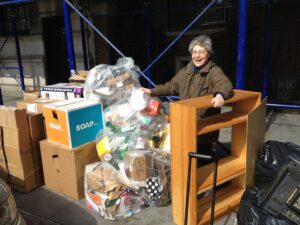 jacquie Ottman reduces waste by rescuing items from NYC's trash