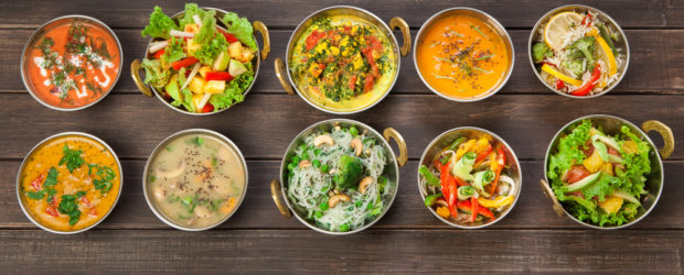 Images of vegetarian recipe examples