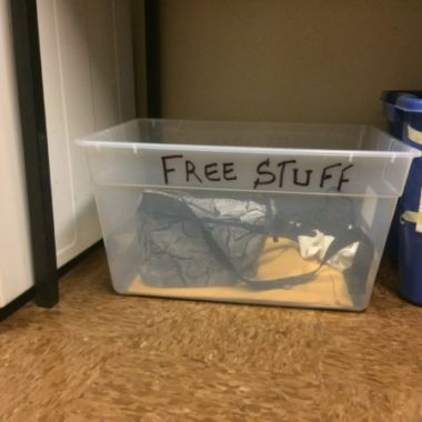 free stuff boxes can help reduce waste in NYC