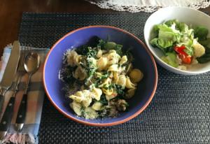 Leftover broccoli rabe and orecchietti