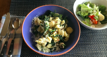 Leftover broccoli rabe